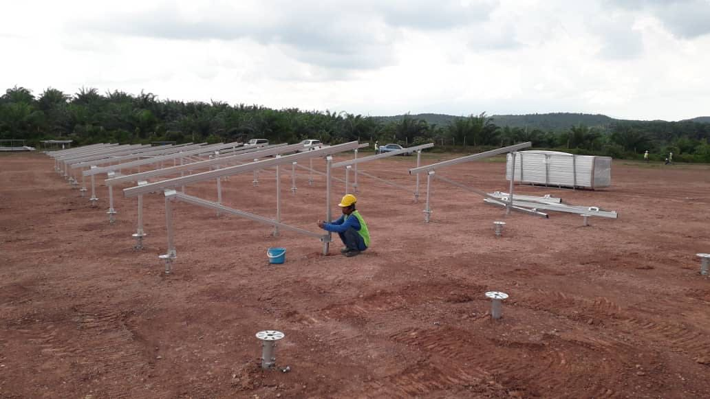 45MWp Solar Ground Mounting Project