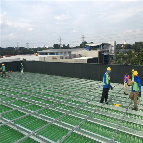 Green Metal Roof Project