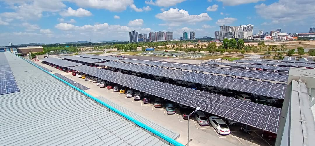water-proof solar carport