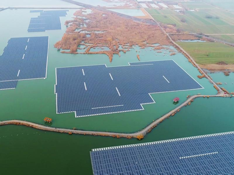 Solar Panel Floating Mounting Structure supplier