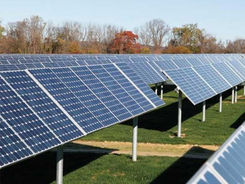 Single Axis Solar Tracker System